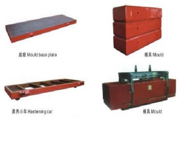AAC Mould & Hardening car & Hoister